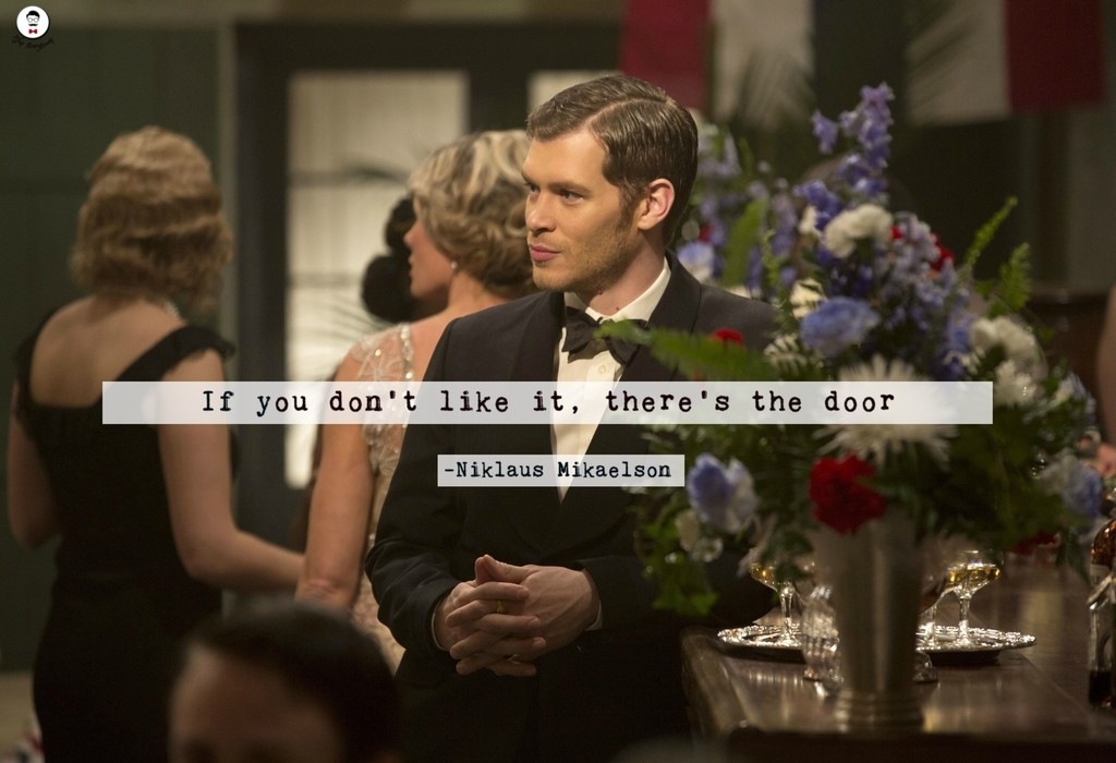 Klaus Mikaelson quotes