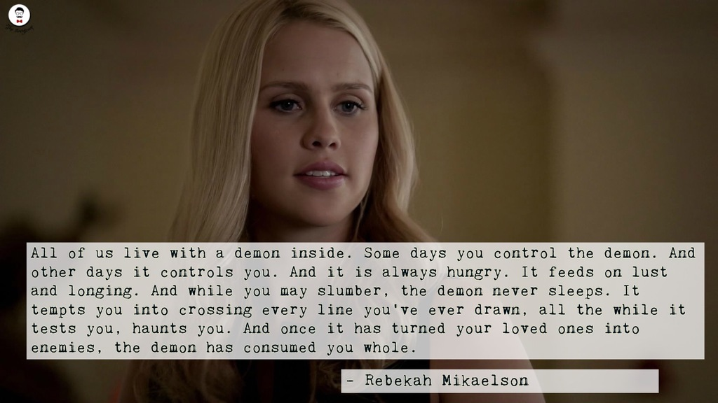 Rebekah Mikalson quotes