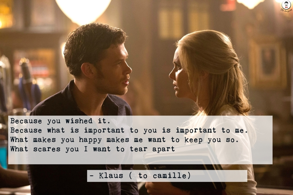 Klaus and cami love