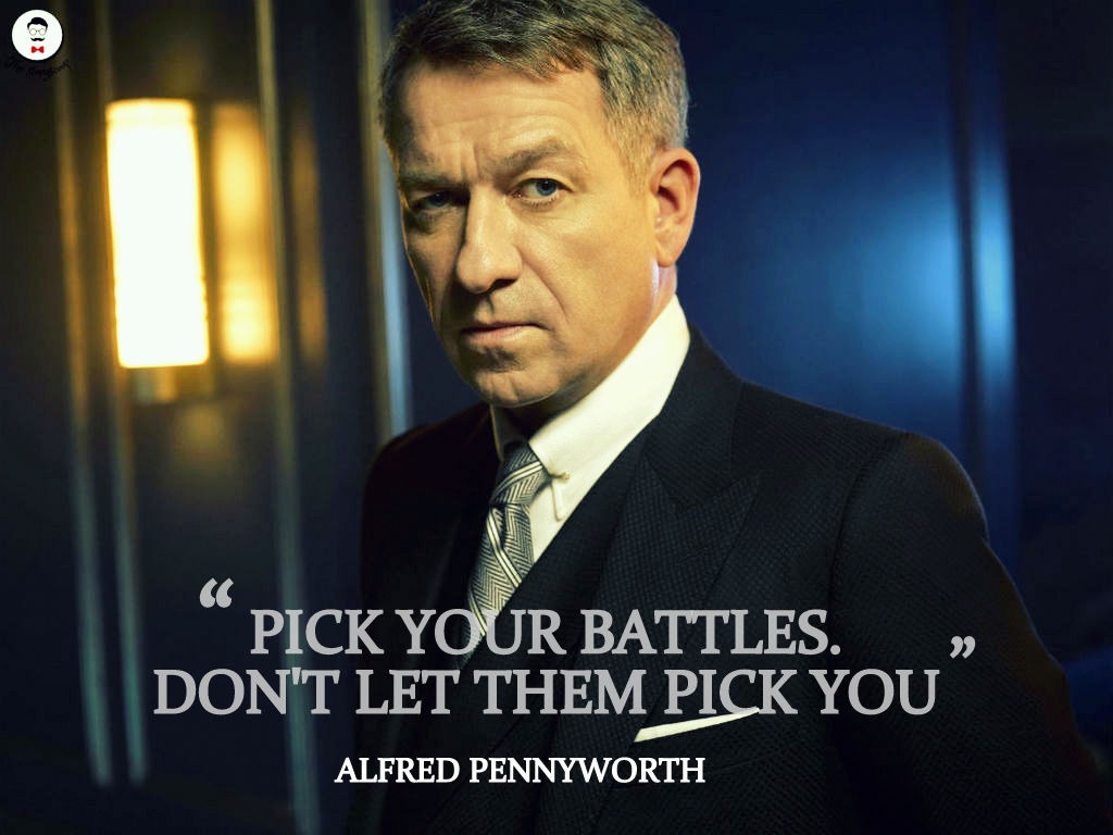 Alfred Pennyworth quotes